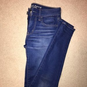 American eagle jeans perfect blue wash